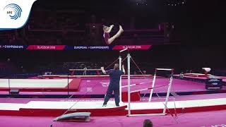 Vladislava URAZOVA (RUS) - 2018 Artistic Gymnastics Europeans, junior qualification bars