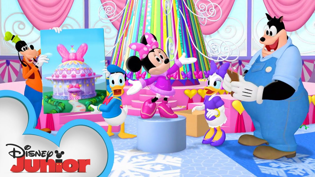 Minnie's Bow Show 🎀 | Mickey Mouse Clubhouse | Mickey Mornings | Disney Junior