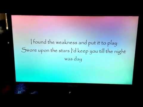 goodness gracious by Ellie Goulding lyrics x
