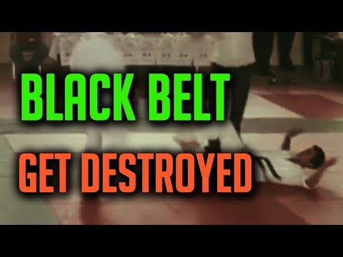 Black Belt Fighter Get Destroyed (Karate Spirit)