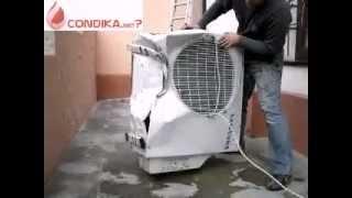Своеобразный демонтаж кондиционера(www.condika.net Нужна установка кондиционера? Онлайн-сервис покупки и монтажа кондиционеров в Украине. Вы можете..., 2013-04-06T12:31:26.000Z)
