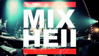 MIXHELL DRUM FINALE AT SOULWAXMAS ANTWERP 2009 w/ MIXHELL, SOULWAX, DAS POP, GOOSE, MOZES...