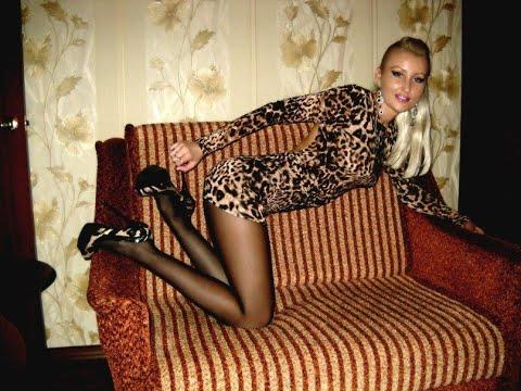 Girls In Mini Dress, Tights & High Heels, Boots Stilettos