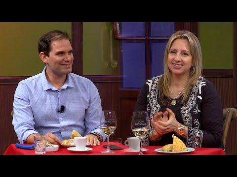 Patricia Rodríguez y el  Dr. Eduardo Regueira