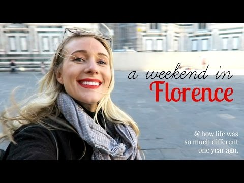 TRAVEL DIARY: WEEKEND IN FLORENCE, ITALY