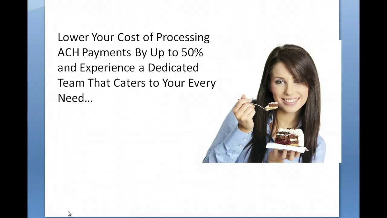 ACH Payment Processing - Send and Receive ACH Payments - 1-855-302-4325