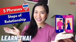 "How to Say ""We're dating!"" In THAI 