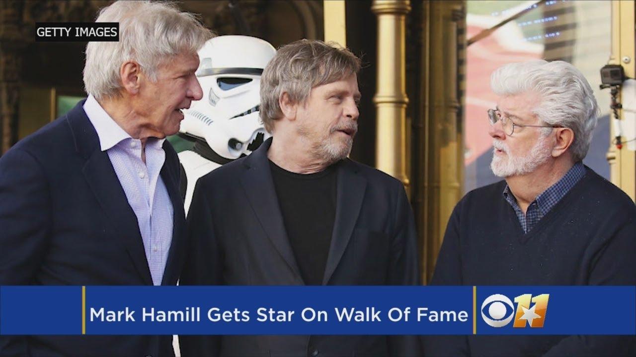 Mark Hamill Gets Star On Walk Of Fame