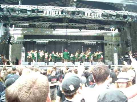 Trachtenmusikkappelle Mining at Metalfest Open Air Austria 2010