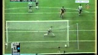 Goles de Argentina Campeon del Mundo 1986 (1era Fase Completa)