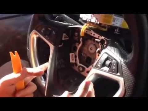 Opel Insignia- как снять подушку безопасности и кнопки на руле