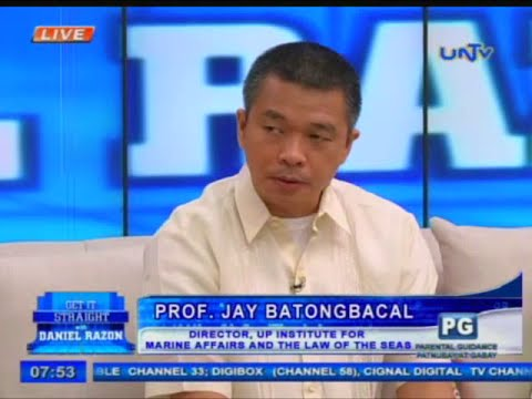 Prof. Jay Batongbacal talks about PH's maritime issues