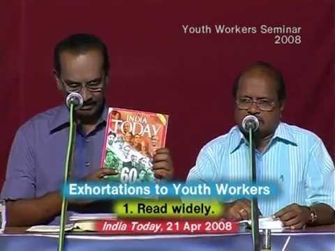 11. Exhortations to Youth Worker - வாலிபர் ஊழியருக்கு அறிவுரைகள்