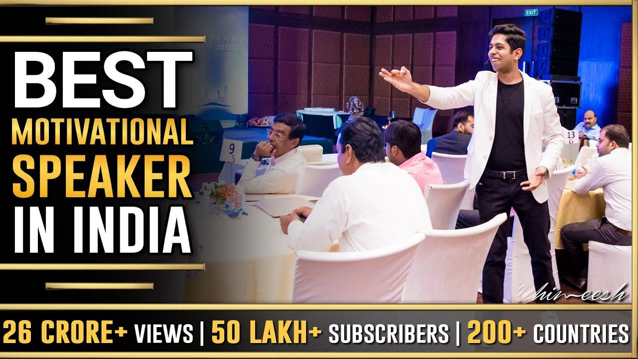 Best Motivational Speaker in India   Him-eesh Madaan