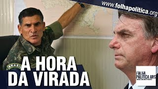 General Santos Cruz é intensamente aplaudido ao expor como o Governo Bolsonaro recuperará o Brasil