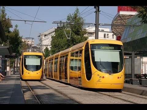 Places to see in ( Mulhouse - France ) Tramway de Mulhouse