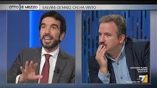 Otto e mezzo - Salvini - Di Maio, chi ha vinto (Puntata 16/10/2018)