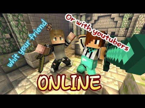 Wie Könnt Ihr Mit MirFreunde Online Auf Minecraft Spielen Ihr - Minecraft online spielen mit freunden