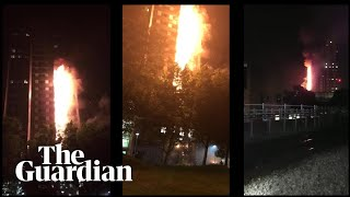 New video timeline shows how the Grenfell Tower fire unfolded