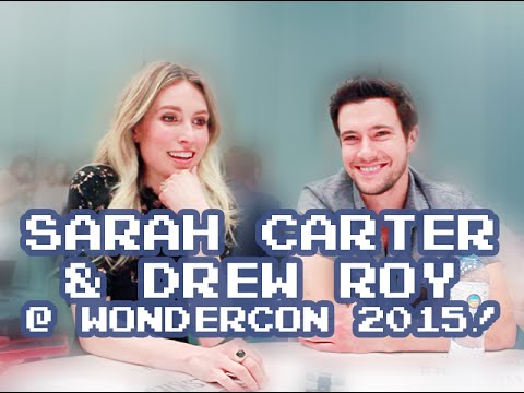 Falling Skies' Sarah Carter and Drew Roy at Wondercon 2015 talk Love Triangles