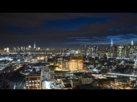 New York Manhattan Day to Night 4K Timelapse 2017