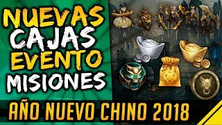 NUEVAS CAJAS, EVENTO y MISIONES del DELEITE LUNAR | Noticias League Of Legends LoL