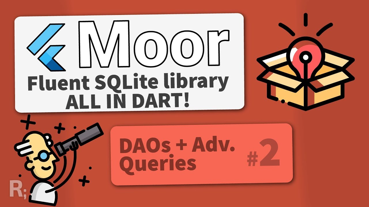 Moor (Room for Flutter) #2 – Advanced Queries & DAOs