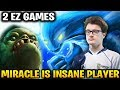 Miracle Pudge + Morphling - He's Totally Insane Player