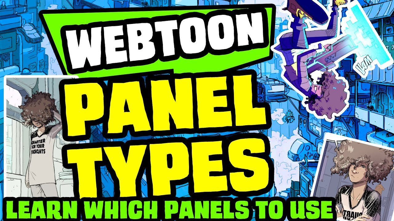 How to Make a Webtoon: Panels for Vertical Scroll Layout, Storyboards, and Thumbnails