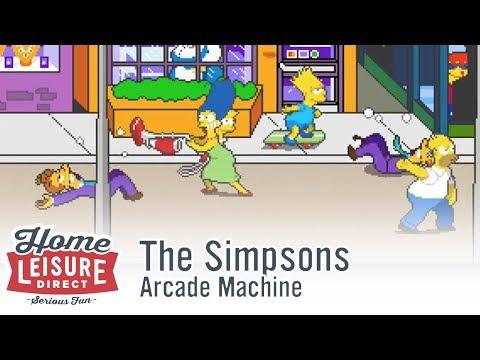 The Simpsons Arcade (Konami 1991)