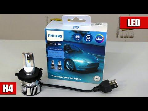 Обзор LED ламп H4 от PHILIPS. Бренд по цене ламп с ALIEXPRESS !!! (11342UE2X2)