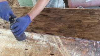 видео Покрытие маслами и лаками