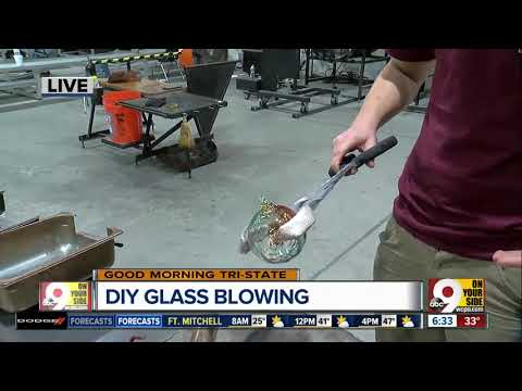 Ever try glassblowing? Neusole Glassworks can help you make a Christmas ornament