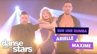 DALS S08 - Arielle Dombasle, Maxime Dereymez et Chris Marques pour une rumba sur du Véronique Sanson