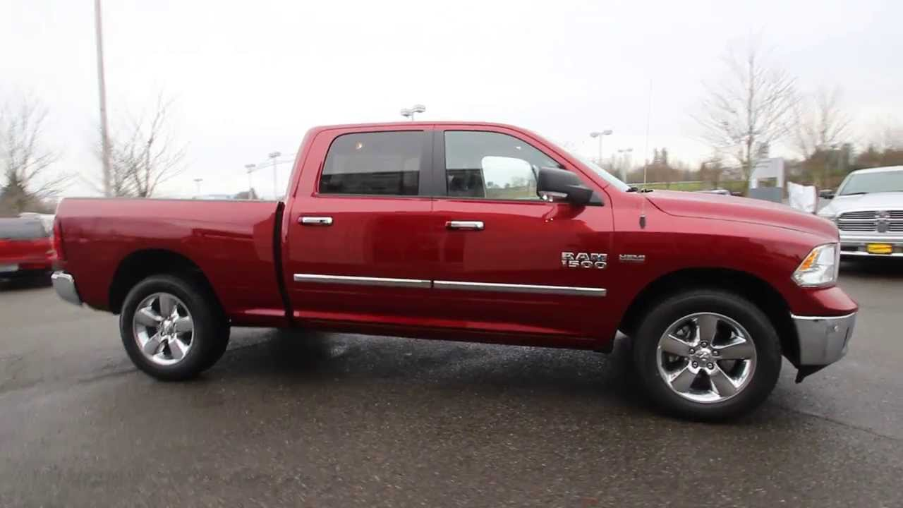 2014 dodge ram 1500 big horn deep cherry red es218127 everett snohomish youtube - Dodge Ram 2500 2014 Red