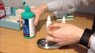 Contact Lenses - RGP Preparation, Insertion and Removal