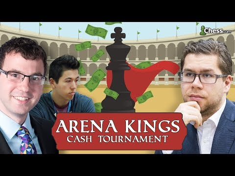 Arena Kings Chess Tournament February 1 2018: Hansen, Hess and Hammer Battle - But Who Wins?