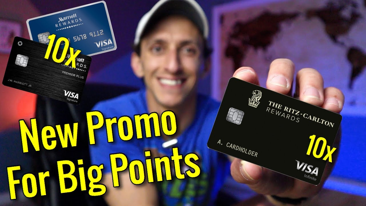 EARN BIG POINTS With Chase Marriott Credit Cards | New Promo For Dining & Gas