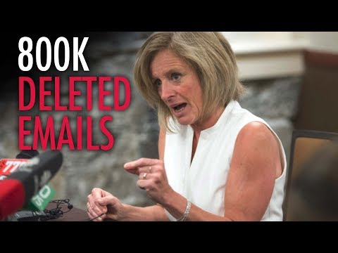 """Alberta NDP: 800K emails """"electronically shredded"""""""