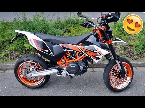 felgen sticker und spokes ktm smc r 690 youtube. Black Bedroom Furniture Sets. Home Design Ideas