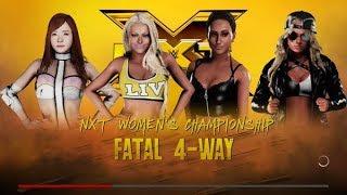 Heyy Pumpkin ♥ Here is the battle for the NXT Women's Ttile between...