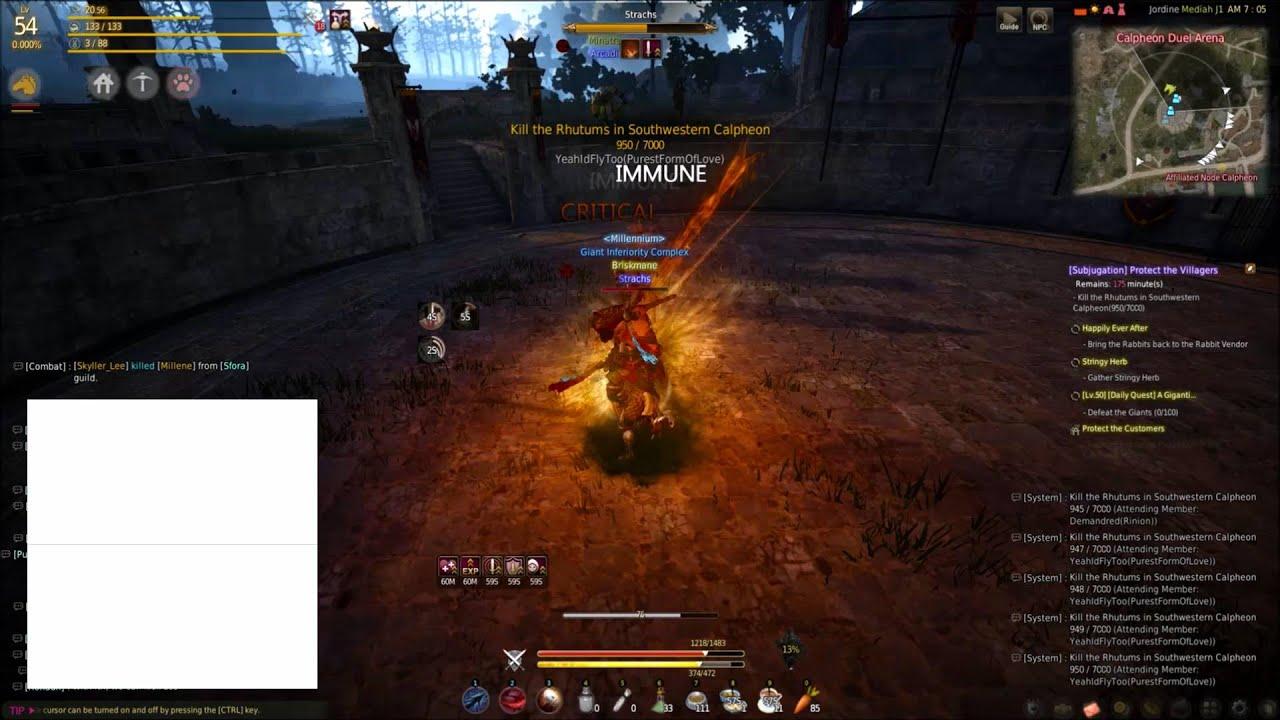 Grab - Warrior - The Black Desert Online