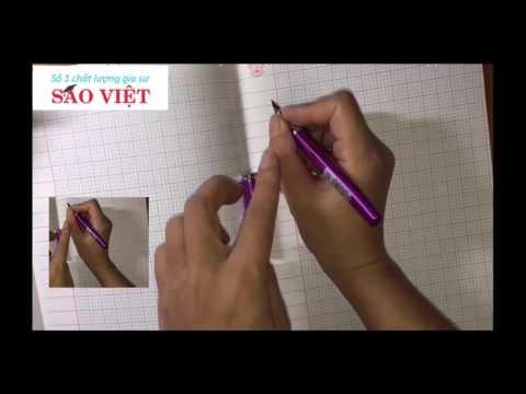 Hướng dẫn cách cầm bút cho bé chuẩn bị vào lớp 1