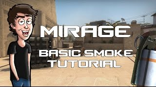 CS:GO - Mirage Tutorial (Basic Smokes)