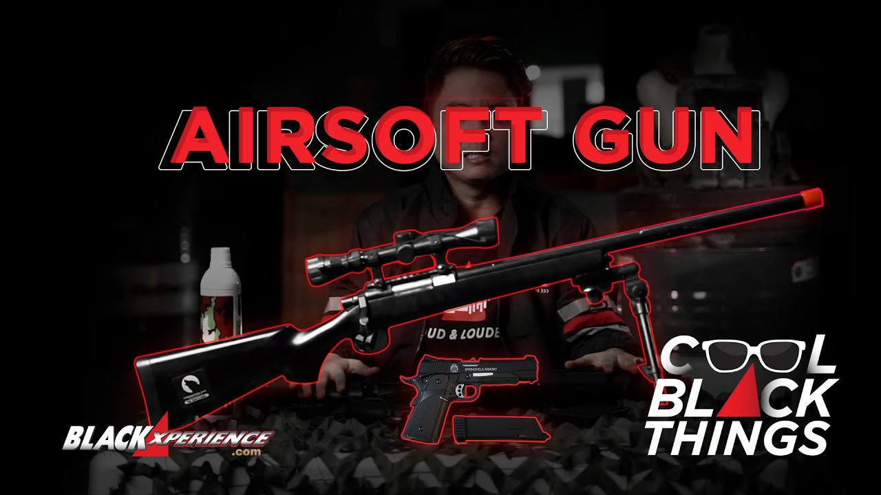 Tiga Airsoft Gun Siap Combat Tiga Medan | Cool Black Things - S1 • E3