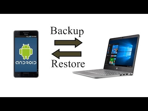 How do i backup my entire android phone to my computer