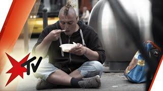 Obdachlose Jugendliche: Leben auf der Straße - die Reportage mit Ilka Bessin | stern TV