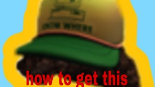 New free hat (roblox)