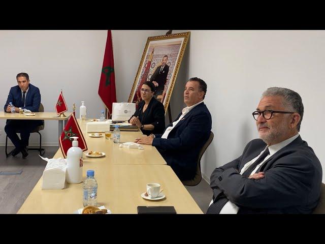 Fondation MAScIR - Visite de la Confédération Générale des Entreprises du Maroc (CGEM)