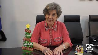 """""""Comemorações de paz a todos"""", mensagem da vereadora Jamila"""